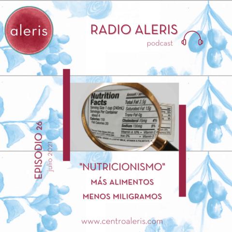 Nutricionismo Radio Aleris