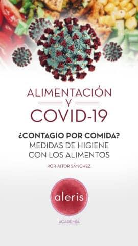 Alimentación y COVID-19: Contagio por comida