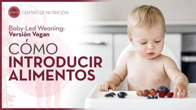 BLW vegan: Cómo introducir los alimentos