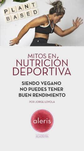 Mitos nutrición deportiva: dietas veganas