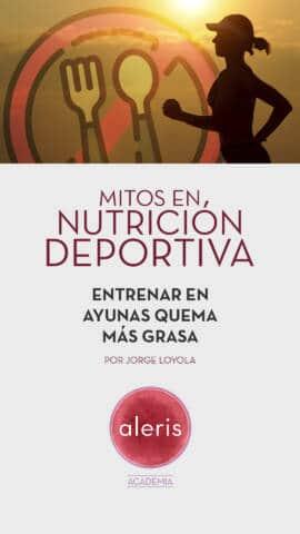 Mitos nutrición deportiva: Entrenar en ayunas