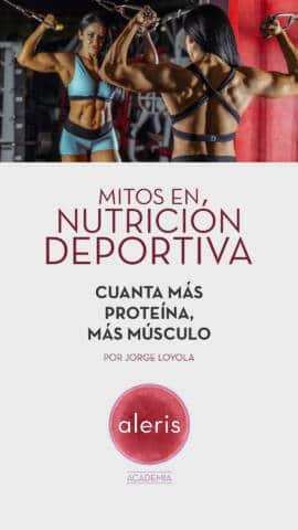 Mitos nutrición deportiva: Proteína y músculo