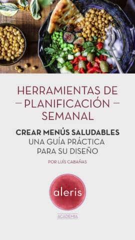 Herramientas de planificación semanal: crear menús