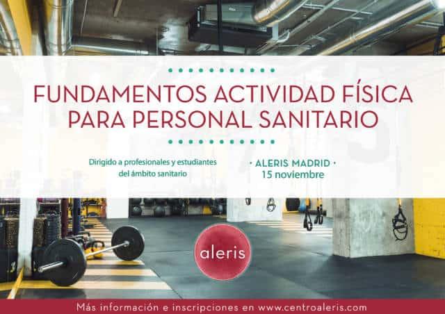 Curso actividad física sanitarios